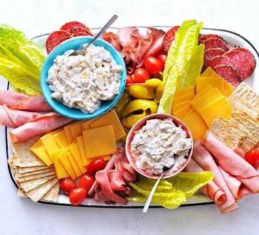 Summer Deli Snacking Board image