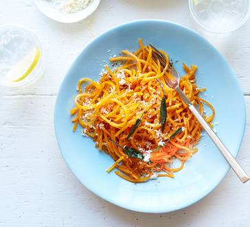 Butternut Squash Noodles with Brown Butter and Sage | Stop ...
