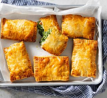 Savory Spinach and Cheese Pies image