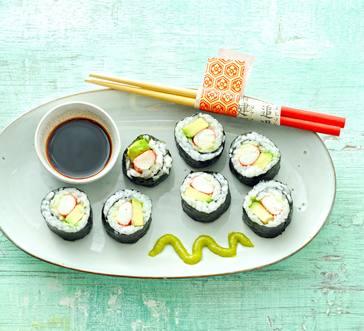 Crab Sushi Rolls image
