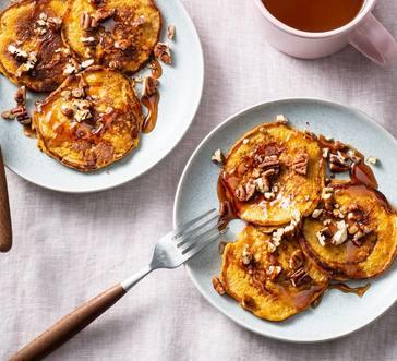 Pumpkin Spice Sweet Potato Pancakes image