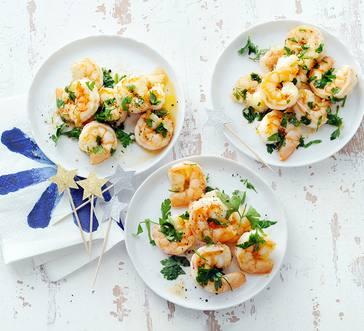Spanish-Style Garlic Shrimp image
