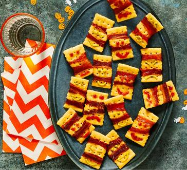 Bacon-Wrapped Monster Crackers image
