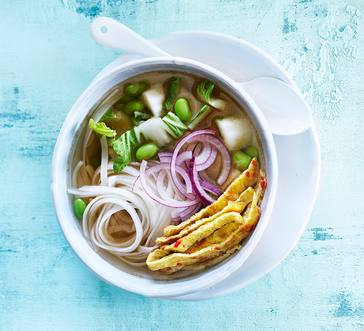 Asian Chicken Noodle Soup image