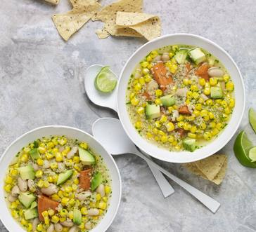 Tex-Mex White Bean Soup image