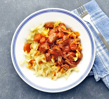 Slow Cooker Beef Goulash image