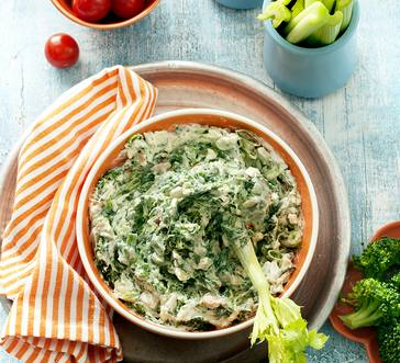 Light Spinach Dip image