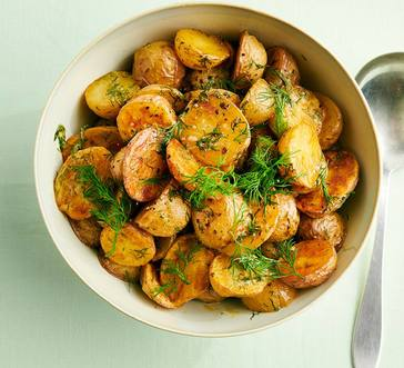 Roasted Baby Potatoes with Dill image