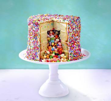 Piñata Cake image