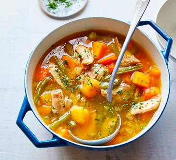 Turkey Vegetable Soup image