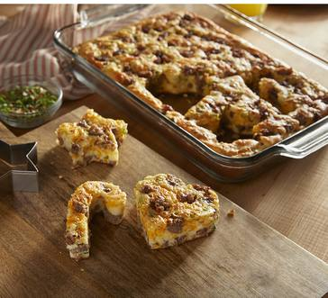 Jimmy Dean® Sausage Quiche Cuts image