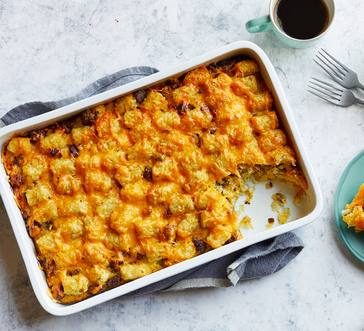 Potato and Maple Sausage Fri-tot-a Casserole image