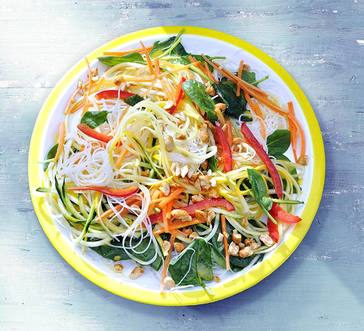 Easy Summer Veggies Noodle Salad image