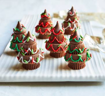 Chocolate Christmas Trees image