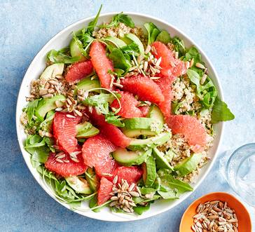 Quinoa Salad with Grapefruit and Avocado image