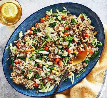 Ground Turkey Fried Rice image