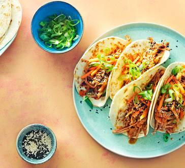Slow Cooker Korean Pork Tacos image