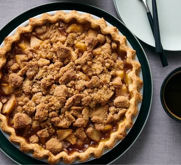 Pear Pie with Streusel Topping image