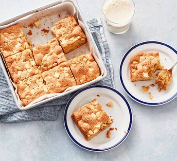 Peanut Butter and Apple Snacking Cake image