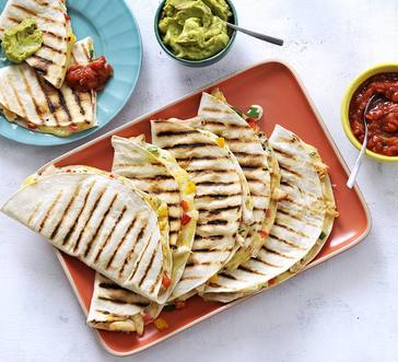 Grilled Chicken Quesadillas image