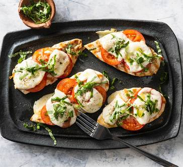 Grilled Chicken Caprese image