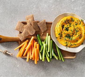 Carrot Hummus image