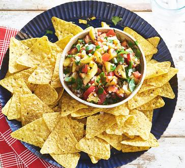 Grilled Peach Salsa image