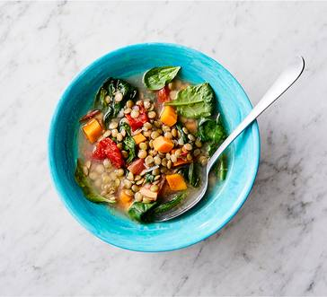 Spiced Lentil Soup image