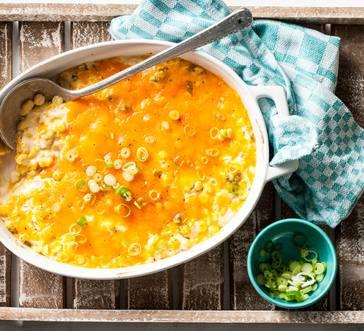 Cheesy Corn Casserole image