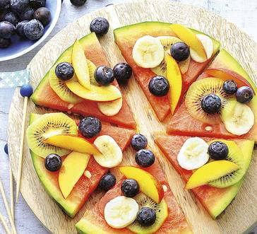Watermelon Pizza image