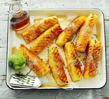 Grilled Tropical Pineapple Spears image