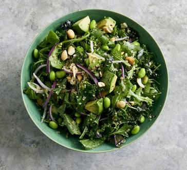 Kale-Quinoa Salad with Edamame image