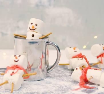 Marshmallow Snowmen image