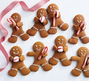 Candy Cane Gingerbread Men image