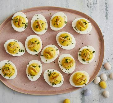 Caesar Deviled Eggs image
