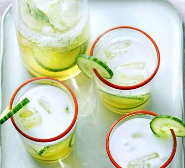 Citrus Kombucha Mocktail image