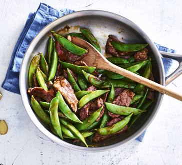 Beef and Sugar Snap Pea Stir-Fry image