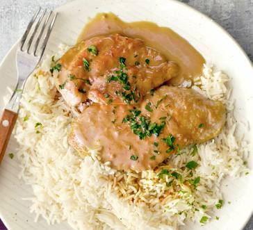 Creamy Chicken Marsala image