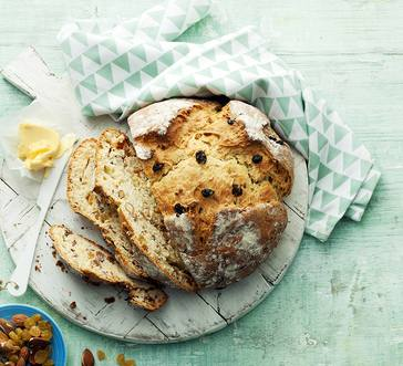 Soda Bread with Almonds and Raisins image