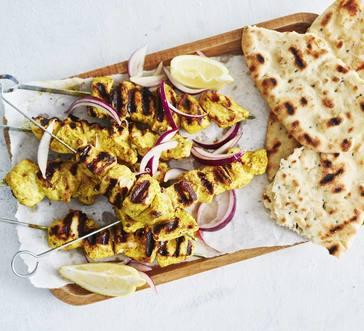 Grilled Chicken Tikka Skewers image