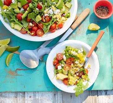 Corn and Avocado Salad image