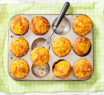 Cheesy Corn Muffins image