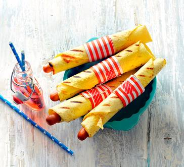 Corn Tortilla Dogs image