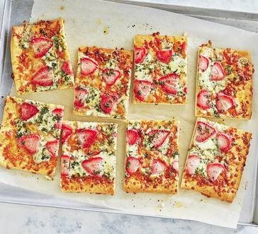 Strawberry–Blue Cheese Pizza image
