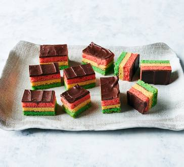 Italian Rainbow Cookies image