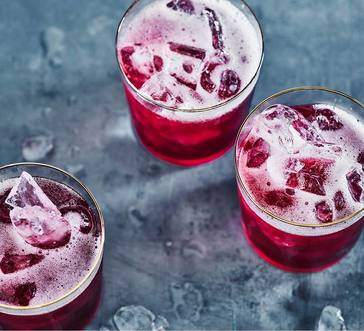 Pomegranate-Red Wine Cocktail image