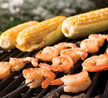 Grilled Shrimp Skewers image