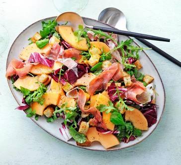 Prosciutto and Melon Salad image