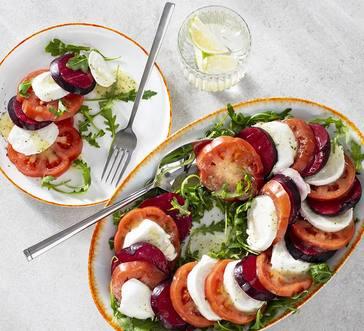 Mozzarella, Tomato, and Plum Salad image