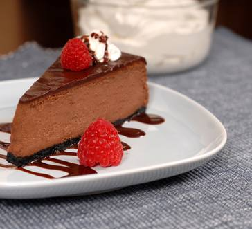 HERSHEY's Best Loved Chocolate Cheesecake image